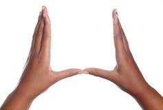 gest ręka Zdjęcie Royalty Free
