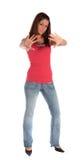 gest robi odpędzenia kobiety potomstwom Obraz Stock