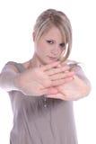gest robi odpędzeniu Obrazy Royalty Free