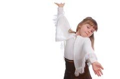 gesta dziewczyny ręk target2654_0_ Obraz Stock