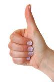 Gesta gest vertical zdjęcie royalty free