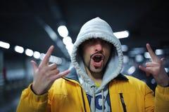 gesta raper Zdjęcie Royalty Free
