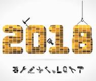 Gestalt 2018 Lizenzfreie Stockfotografie