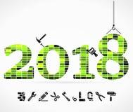 Gestalt 2018 Stockfotografie
