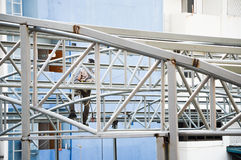 Gestalt und buiding Baumaterial Lizenzfreie Stockfotos