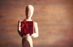 Gestalta mit Geschenk Stockfotos