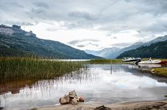 Gestalten Sie Argentinien, De los Anden Sans Martin landschaftlich stockbilder