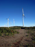 Windtürme lizenzfreie stockfotografie