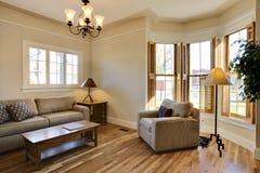 Gestalten Sie Wohnzimmer-Innenraum um Stockfoto