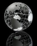 Gestaltete Erde-Serie Stockbild