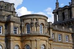 Gestaltete Fassade von Blenheim-Palast in Woodstock, England Lizenzfreies Stockfoto