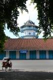 Gestaltung von Palast Kasunanan Surakarta Stockbilder