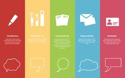 Gestaltungselemente Infographic Lizenzfreies Stockfoto