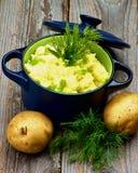 Gestampfte Kartoffel Lizenzfreies Stockfoto