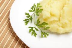 Gestampfte Kartoffeln Lizenzfreies Stockbild