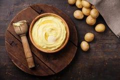 Gestampfte Kartoffeln Lizenzfreie Stockbilder