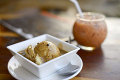 Gestampfte Kartoffeln Stockfoto