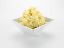 Gestampfte Kartoffeln in der Schüssel Stockfotografie
