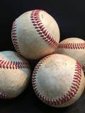 Gestapeld baseballs royalty-vrije stock fotografie