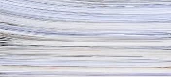 Gestapeld Document royalty-vrije stock foto's