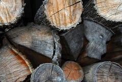 Gestapeld hout Royalty-vrije Stock Foto