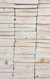 Gestapeld hout Royalty-vrije Stock Fotografie