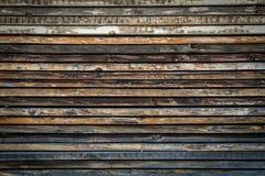 Gestapeld hout Stock Foto's