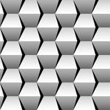Gestapeld kubussen naadloos patroon Vector Illustratie