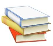 Gestapelde Boeken Stock Afbeeldingen