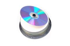 Gestapelde cd's Stock Afbeeldingen