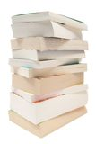 Gestapelte Taschen-Bücher Stockfotografie