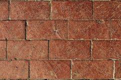 Gestapelte Ziegelsteine Stockbild