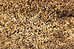 Gestapeltes gehacktes Holz 2 Lizenzfreies Stockfoto