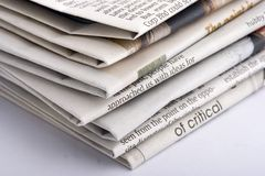 Gestapeltes Papier Stockfotos
