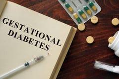 Gestational diabetes stock photography