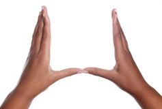 Geste de main Photo libre de droits