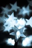 Gestemde de lichten van Kerstmis Royalty-vrije Stock Afbeeldingen
