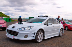 Gestemde Franse auto Royalty-vrije Stock Afbeelding