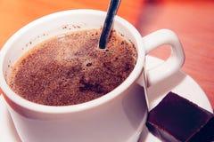 Gestemde kop van koffie Royalty-vrije Stock Afbeelding