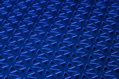 Gestempeld Metaalblauw Stock Foto's