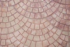 Gestempelde het parkeren vloer Royalty-vrije Stock Fotografie