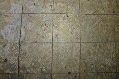 Gestempelter konkreter Boden Stockfotos