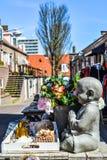 Gestenigde Boedha in Market Place royalty-vrije stock fotografie