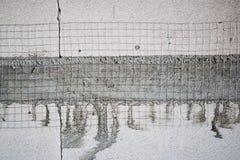 Gesteriliseerde met autoclaaf het wit luchtte lichtgewicht concreet blok stock afbeelding