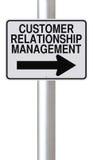 Gestión de la relación del cliente Imagen de archivo libre de regalías