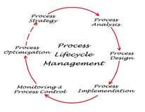 Gestión de proceso del ciclo vital Foto de archivo libre de regalías