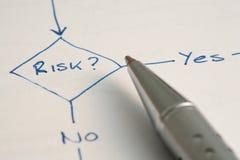 Gestión de riesgos Imagen de archivo