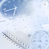 Gestión de tiempo Foto de archivo