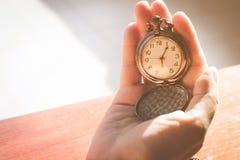 Gestión de tiempo Foto de archivo libre de regalías