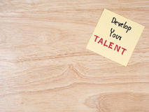 Gestión 7 del talento imagen de archivo